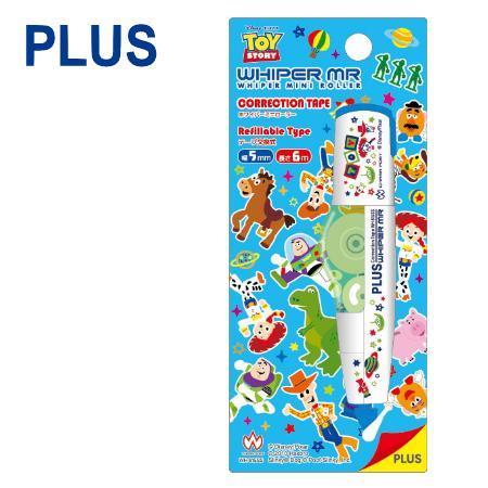 【迪士尼限定版】PLUS 普樂士 WH-605 智慧型滾輪修正帶 ( 5mm x 6M ) 【玩具總動員 Toy Story】 開工 開學用品