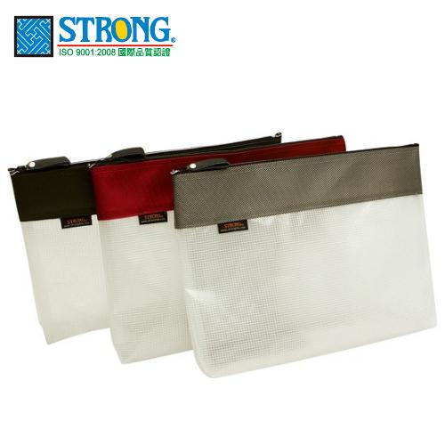 自強文具 SA-110 環保立體網狀拉鍊袋 ( A4 )