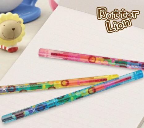 雄獅 NS002 奶油獅三角彩虹筆