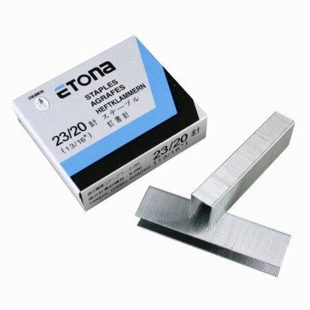 ETONA 23 20 多 釘書針 訂書針 ^( 裝訂張數:140^~200張 ^)