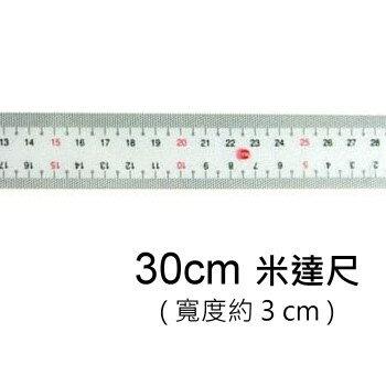 PASS巴士 NO.11091 直尺 ( 米達尺 / 30cm )