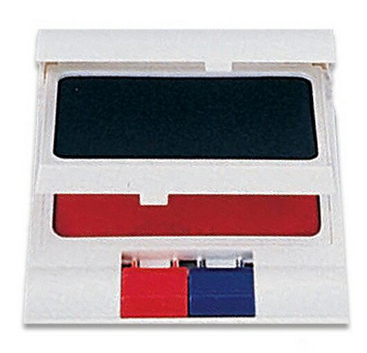 OFESE 歐菲士 NO.100 自動雙色打印台   藍色  紅色   印面尺寸:8.7