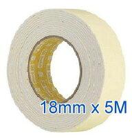 3M,3m膠帶推薦到★暢銷★ 3M 113 泡棉雙面膠帶 ( 18mm x 5M )