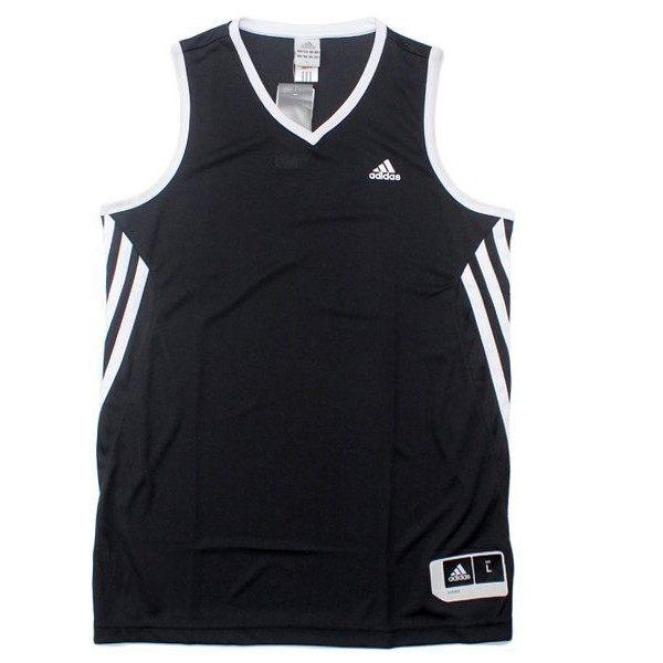 《精選服飾↘市價65折》Adidas SS TEAM SPEED 男裝 球衣 背心 籃球 團體 排汗 黑 白 【運動世界】 D83156