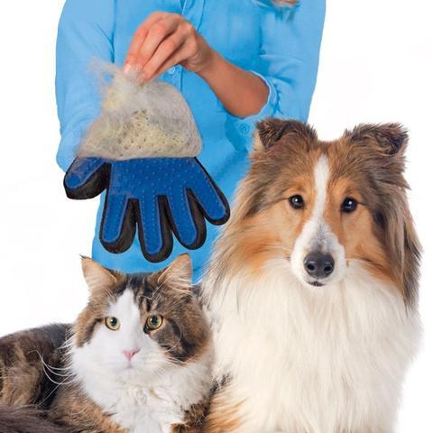寵物潔毛安撫2用式手套