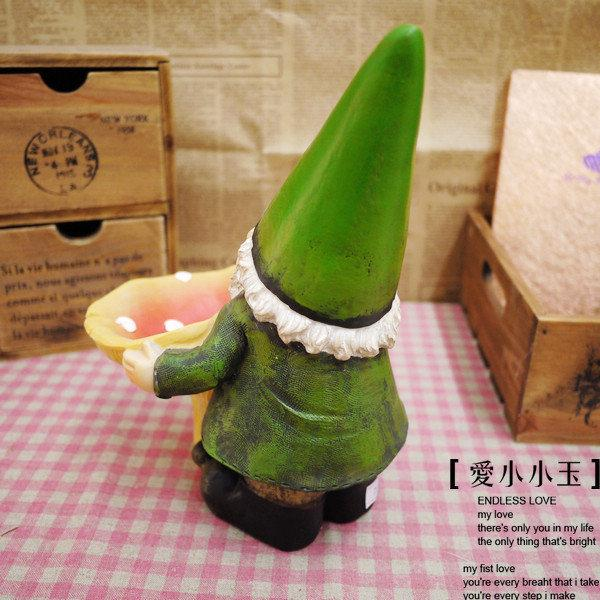 【綠精靈的蘑菇】趣味時尚家居飾品創意兒童房擺件生日結婚禮物