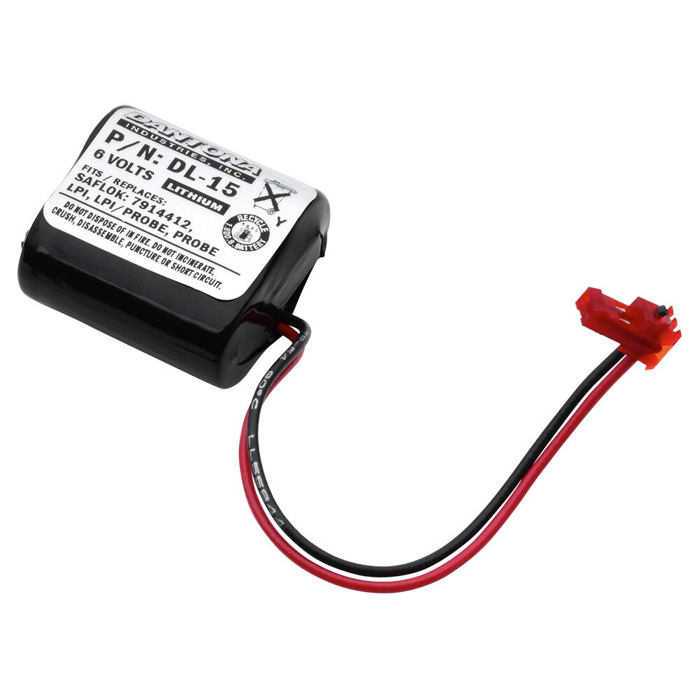 DL-15 6V 1300mAh battery pack for  Saflok - ProBE 0