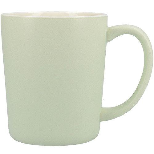 《CreativeTops》Cafetiere單柄馬克杯(消光綠400ml)