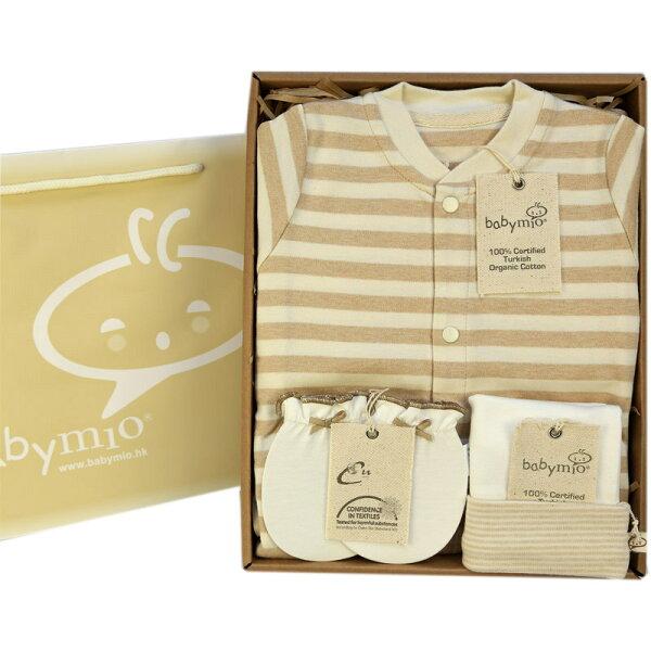 橫紋連身衣禮盒