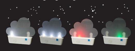 【凱樂絲】太陽能省電LED古典音樂夜燈(雲朵造型) (給愛麗絲, 卡農...) 3