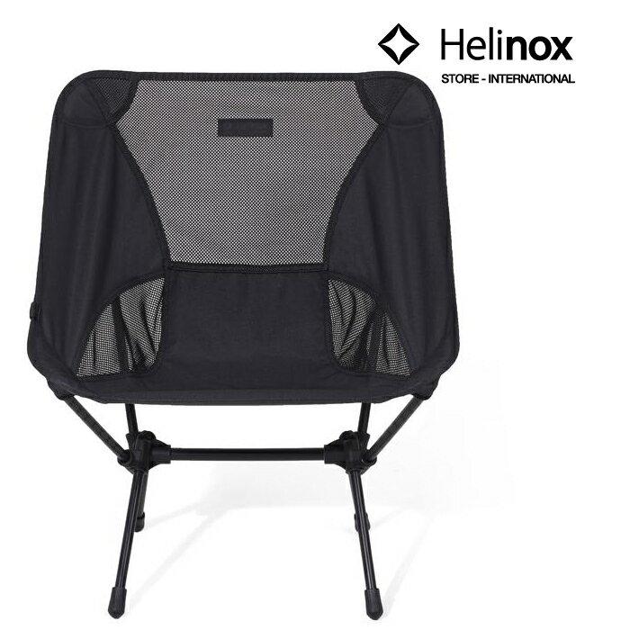 Helinox 輕量戶外椅/摺疊椅/椅子/露營椅/登山野營椅 Chair One 純黑特別版 Blackout Edition