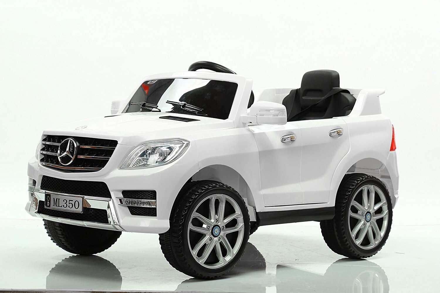 Mercedes Power Wheels >> Electric Ride On Car Mercedes Ml350 12v For Kids Mp3 Remote Control White