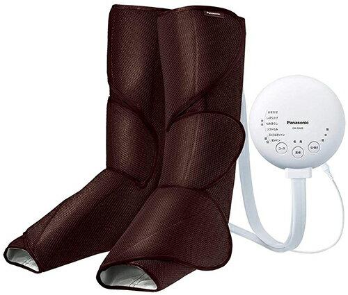 Panasonic【日本代購】松下 空氣按摩器 腳 小腿 保暖功能EW-RA88-深棕色