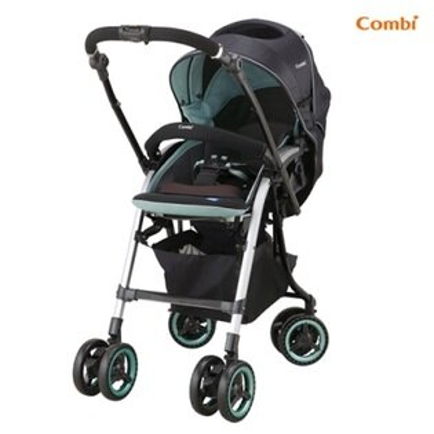 Combi雙向嬰幼兒手推車(NemurieUF800寧靜綠)