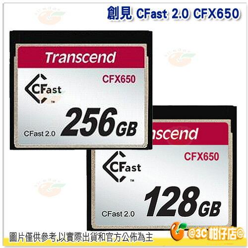 Transcend 創見 CFast 128GB CFX650 記憶卡 貨 128G 讀5