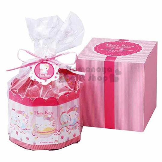 〔小禮堂〕Hello Kitty 日製肥皂禮盒《粉.8入.站姿.抱兔子》送禮自用皆宜