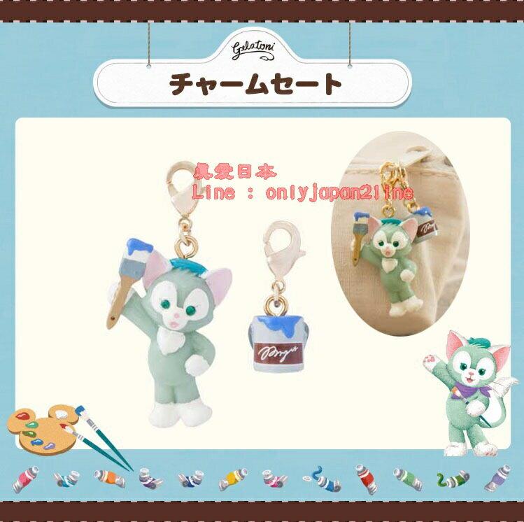 【真愛日本】16070800061樂園掛勾吊飾組-傑力東尼油漆Duffy 達菲熊&ShellieMay 日本帶回 預購