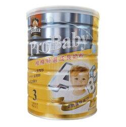 桂格QUAKER特選幼兒奶粉3號-新一代藻精蛋白配方1.5kg/罐x6入 4500元