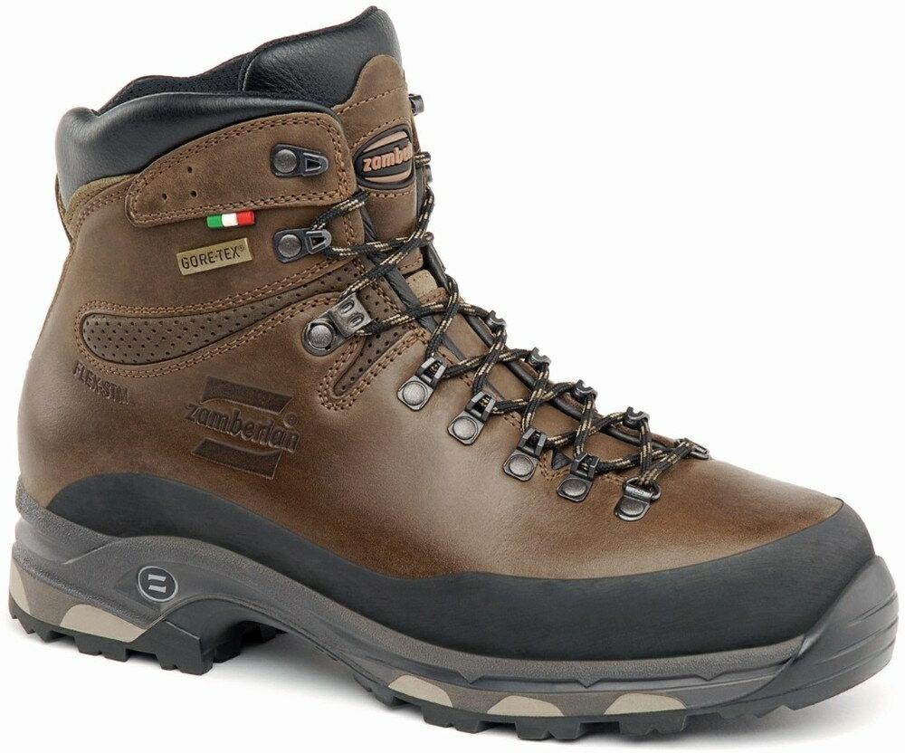 ├登山樂┤義大利 Zamberlan 1006 Vioz Plus GTX RR 防水高筒皮革重裝登山鞋 中性款-栗棕 # 1006PM1G-0C