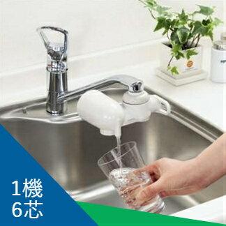 【DUSKIN】甜淨水PLUS除鉛淨水器超值組(一機六芯)★淨水新體驗★下殺6折