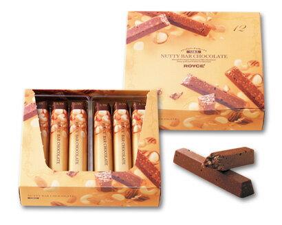 預購【ROYCE】堅果巧克力棒6入 / 12入Nutty Bar Chocolate 本次出貨4 / 8左右 2