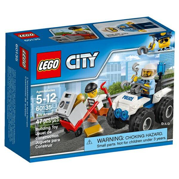 樂高積木LEGO《 LT60135 》2017 年 CITY 城市系列 -全地形車追捕行動