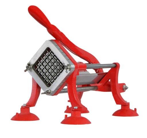VIVO Commercial Grade Red French Fry Cutter / Potato Slicer / 1/2 inch Blade (CUTR-F12) 0c51ea9dcf0e506e2befd72b890cc631
