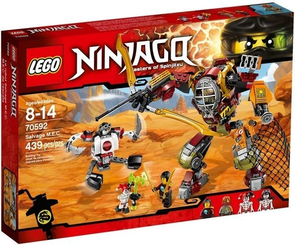【LEGO樂高積木】Ninjago忍者系列-M.E.C.機甲機器人LT-70592