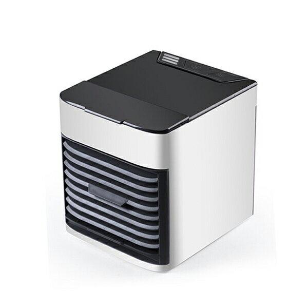 迷你水冷扇 電風扇【贈小風扇】移動式冷氣機 噴霧風扇 冷風機  USB迷你風扇 水冷空調扇 空調風扇 冷風機 LED燈 製冷 加濕 空氣淨化 振興 1