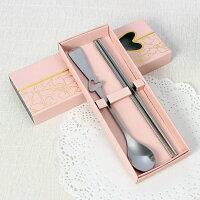婚禮小物推薦到一定要幸福哦~~餐具組(粉盒)、婚禮小物、送客禮