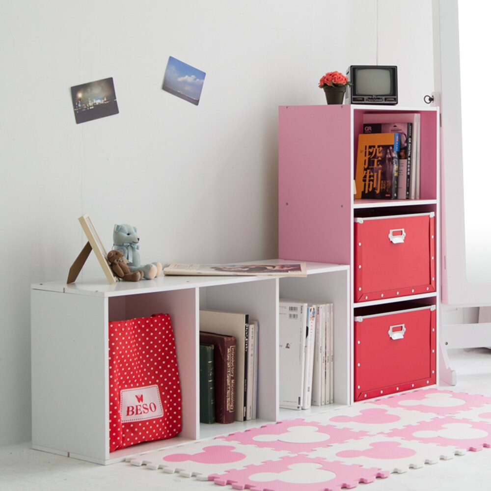 【Q0028-A】漾采粉嫩三層空櫃(6色) MIT台灣製  完美主義 收納 衣櫃 收納櫃 Q BOX