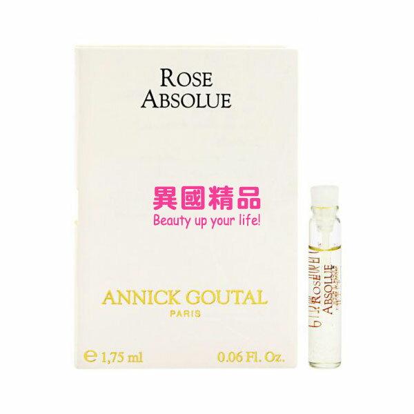 Annick Goutal Rose Absolue 女性針管香水 1.75ml EDT VIAL【特價】§異國精品§