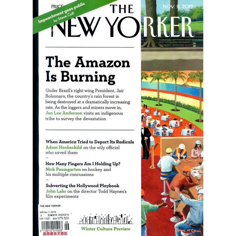 THE NEW YORKER 11月11日_2019 - 限時優惠好康折扣