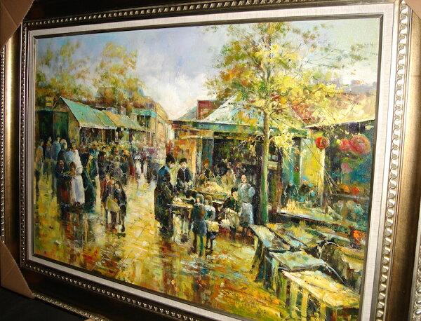 聚鯨Cetacea﹡Art【市集1401007010油畫】收藏畫裝飾畫藝術畫