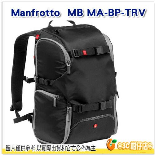 曼富圖 Manfrotto Travel Backpack MB MA~BP~TRV 黑