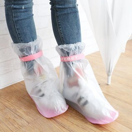 防雨防水鞋套防水雨鞋套防水雨鞋套雨鞋防雨套防水鞋套下雨騎車戶外旅行【N102834】