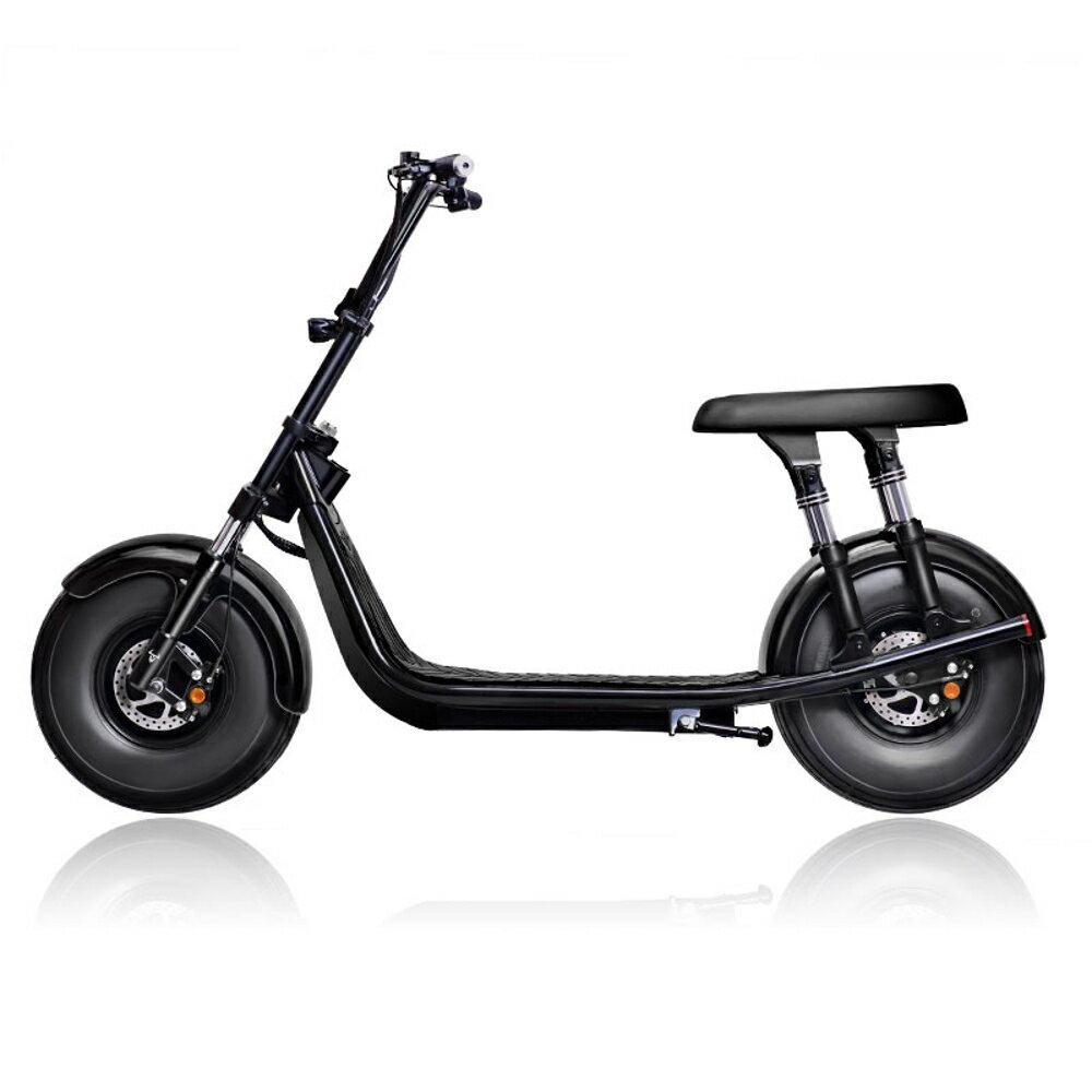 啟牛X哈雷電瓶車成人新款雙人大輪胎電動摩托車跑車自行車 小宅女MKS 聖誕節禮物