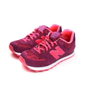 NEW BALANCE 574系列 休閒鞋 女鞋 紅色 no107 楦頭(窄)