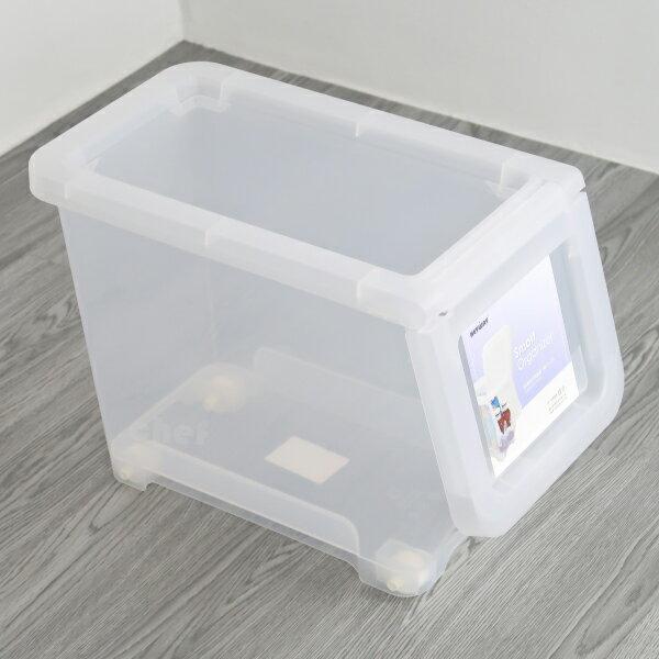 聯府直取式收納箱中16L掀蓋式整理箱玩具置物箱LF605-大廚師