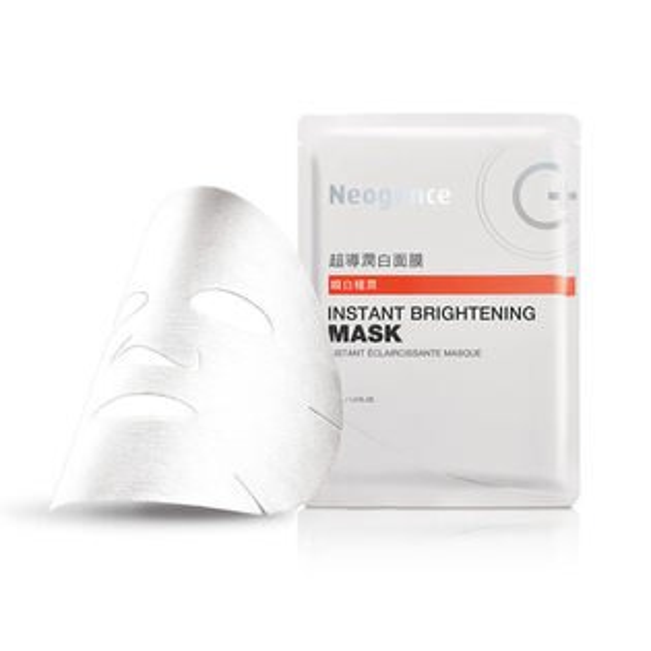 淨妍美肌:Neogence霓淨思】超導潤白面膜4片盒新品上市效期2020.01【淨妍美肌】