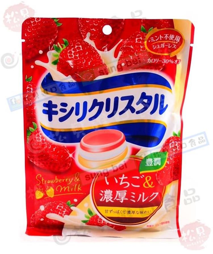 《松貝》三星低卡草莓喉糖59g【4547894702604】ca52