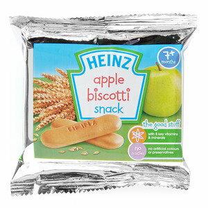 Heinz亨氏 蘋果手指餅 60g 『121婦嬰用品館』