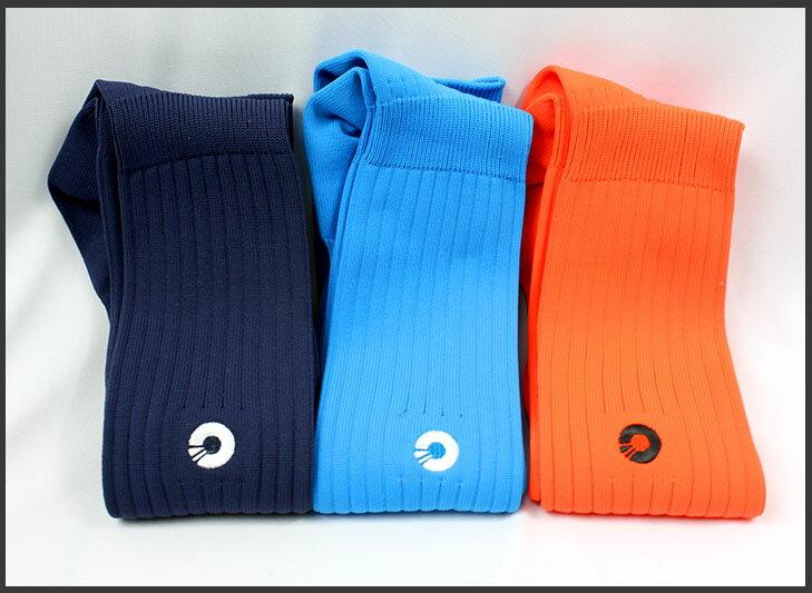 Comsport *彈性足球組合襪*-三色(藍丈青橘) - 限時優惠好康折扣