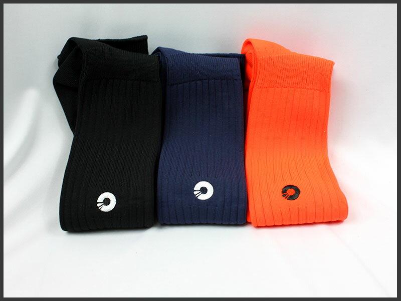 Comsport *彈性足球組合襪*-三色(橘丈青藍) 0