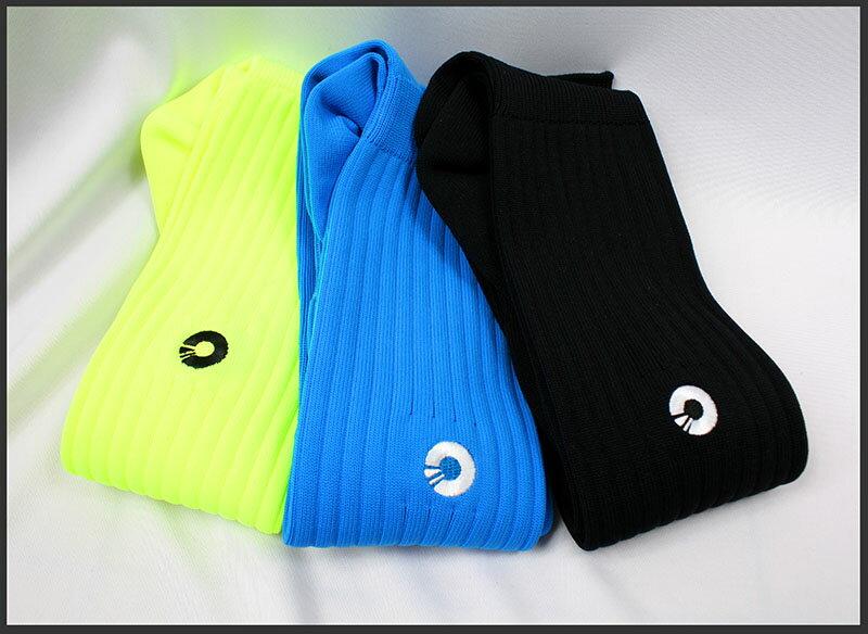 Comsport *彈性足球組合襪*-三色(黃藍黑) 1