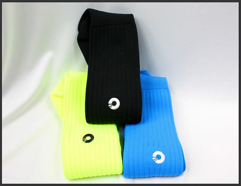 Comsport *彈性足球組合襪*-三色(黃藍黑) 0