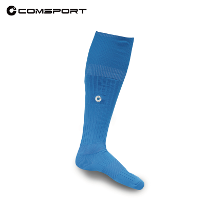 Comsport *彈性足球襪*- 青藍色 - 限時優惠好康折扣