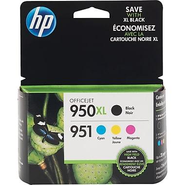 HP 950XL 951 Color Ink Cartridges, C/M/Y, Combo Pack (C2P01FN)