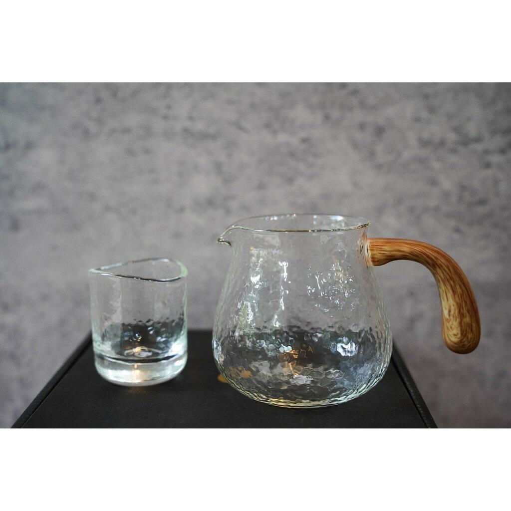 泰摩玻璃錘目分享壺組 一壺兩杯 咖啡壺組 錘目玻璃壺 茶壺『93 coffee wholesale』