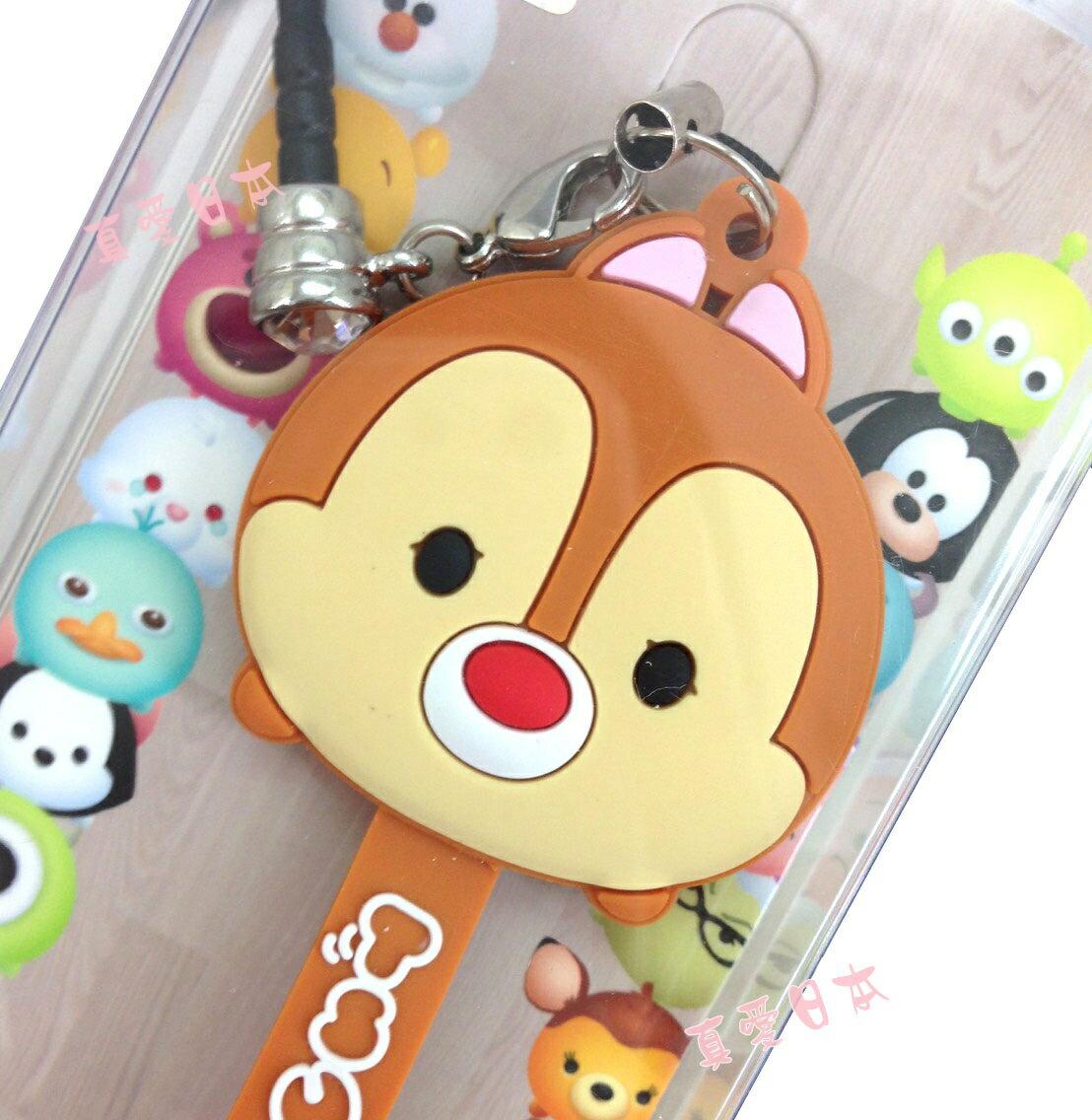 【真愛日本】16072200007吊飾捲線器-蒂蒂  迪士尼 花栗鼠 奇奇蒂蒂 松鼠 耳機集線器 收線器 正品